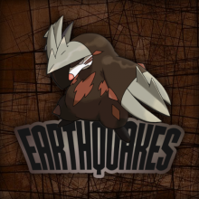 Logo do grupo Earthquakes
